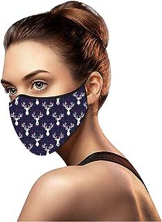 Cuidado personal Hombres y Mujeres Adultos se Pueden reutilizar Las_mascarillas de algodón Impresas de Moda para