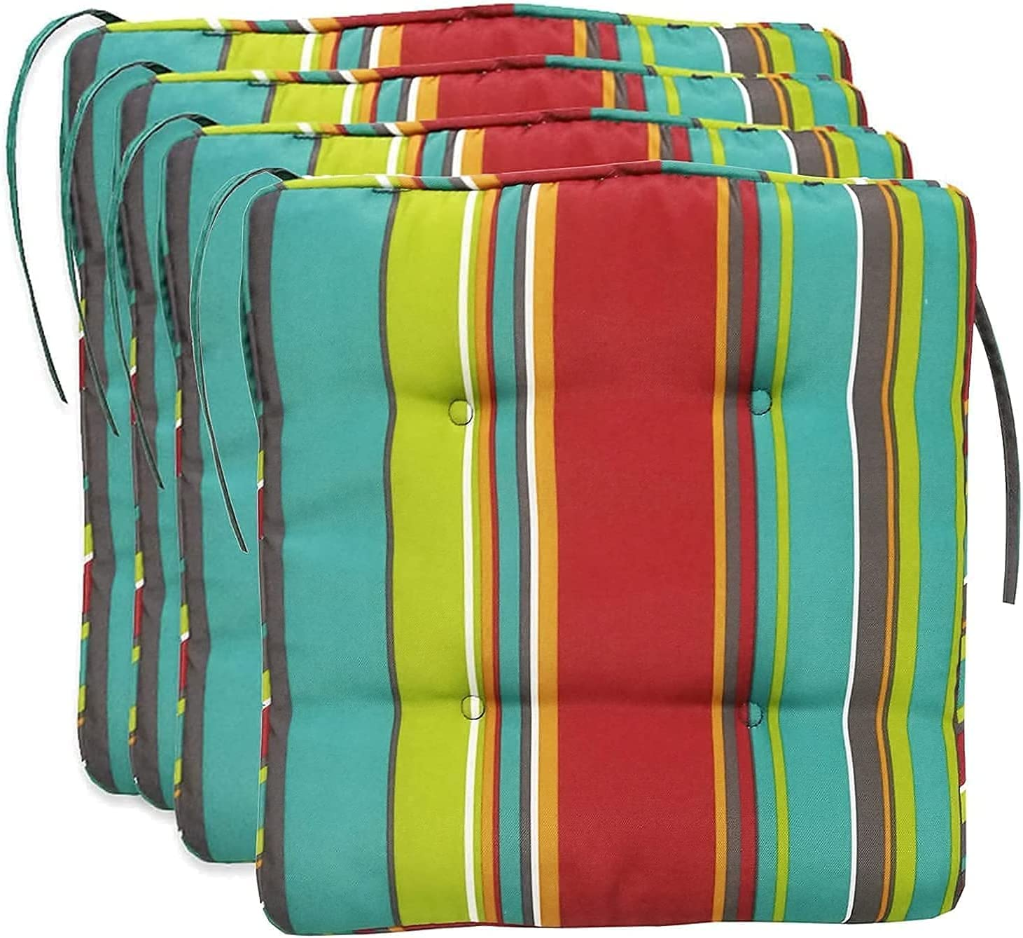 Outdoor New Shipping Fashionable Free Garden Chair Cushions Waterproof Seat Dining for Kitchen