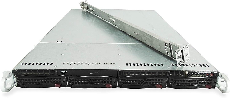 2021 model Supermicro SuperChassis CSE-815 4-Bay Chicago Mall LFF X9DRi-L 1U with Server