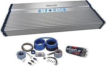 Hifonics BXX4000.1D 4000 Watt RMS Mono Car Amplifier Class D+Amp Kit+Capacitor