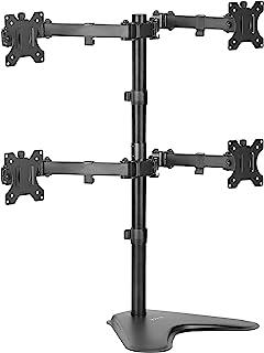 Vivo Desk Stand, Steel, Black, One Size