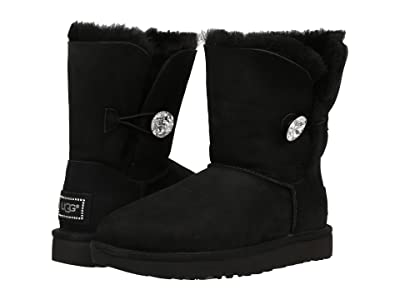 UGG Bailey Button Bling (Black 2) Women