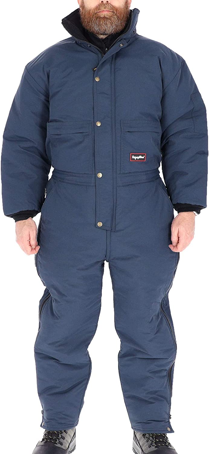 RefrigiWear ChillBreaker Insulated Coveralls with Soft Fleece Lined Collar