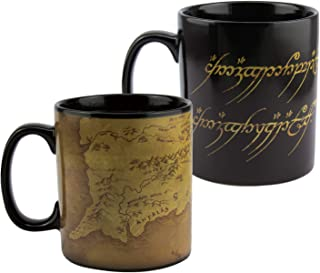 Paladone PP6546LR Lord Of The Rings Heat Change Coffee Mug, 550ml, Colour Changing