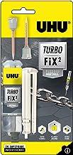UHU Turbo FiX² metaal, super snelle, metaalkleurige 2-componenten reparatielijm voor veel verschillende metalen verlijming...