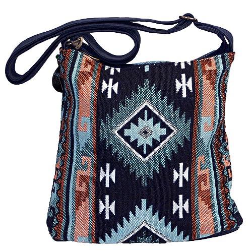 81cbb594ba5b Bohemian Tribal Geometric Crossbody Hipster Messenger Bag