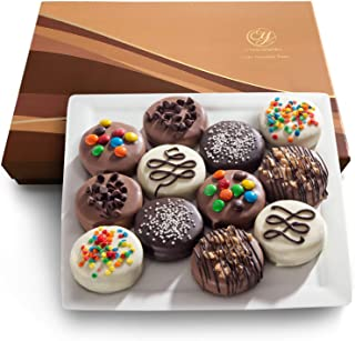 Deluxe Chocolate Dipped Oreos Gift Box - 12 pc