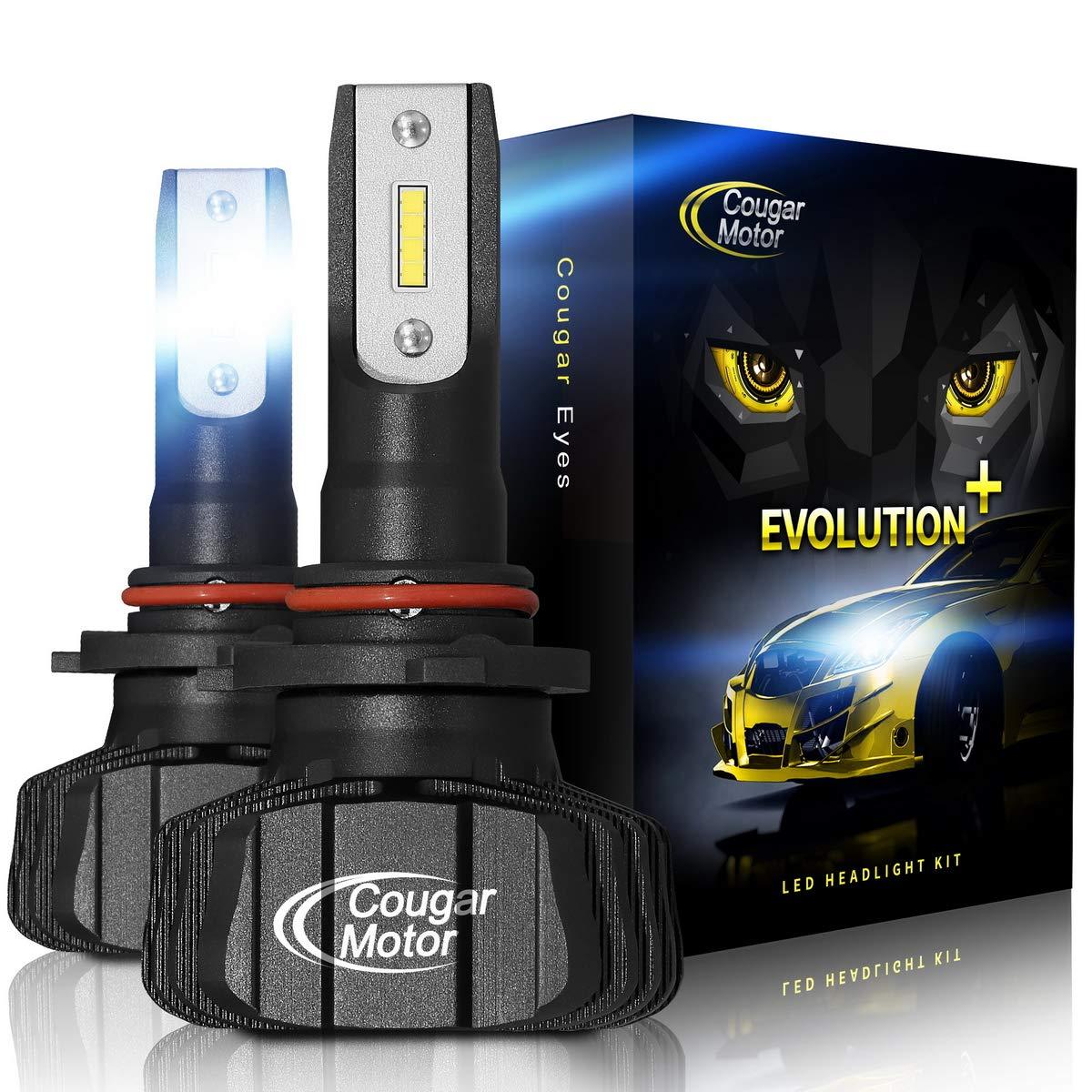 Cougar Motor headlight Fanless Conversion