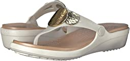 Crocs - Sanrah Embellished Wedge Flip