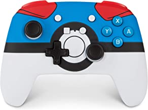 PowerA Enhanced Wireless Controller for Nintendo Switch - Pokemon Great Ball - Nintendo Switch
