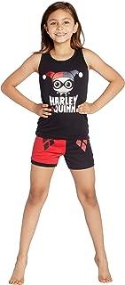 Harley Quinn Tank Top Pajama Short Set