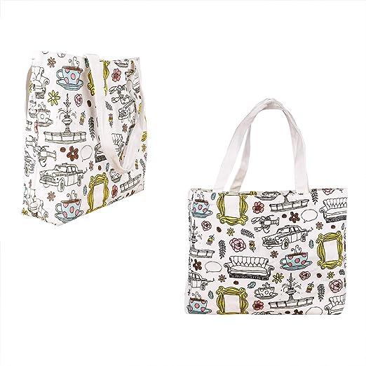 Friends TV Show Merchandise Peephole Kitchen Reusable Grocery Bags. …