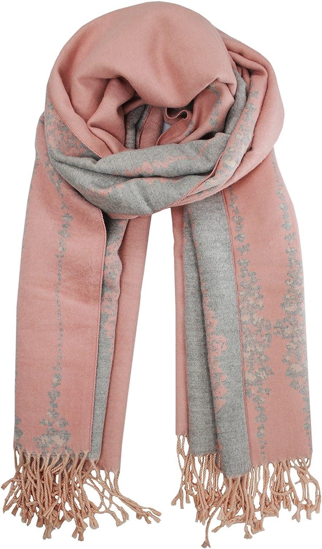 Farlenoyar Women Cashmere Luxurious Soft Winter Warm Scarf Wool Wraps Shawls Scarves