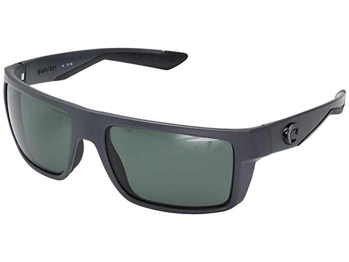 Costa  Motu (Matte Gray Frame/Gray Glass W580) Fashion Sunglasses