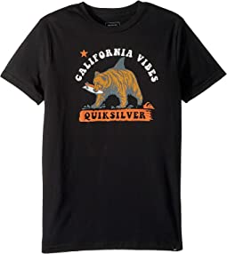 Cali Bear Shark Tee (Big Kids)