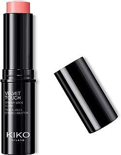 KIKO Milano Velvet Touch Creamy Stick Blush 02 | Blush-stick: crèmige textuur en glanzende finish