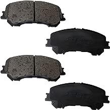 FJSa Ceramic Rear Disc Brake Pad Front Set for Nissan 2014 X-Trail/Qashqai J10 20