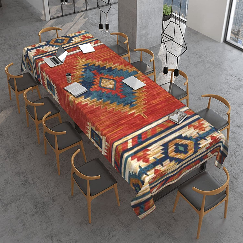 Western Arrow Southwest Native Alternative dealer Tablecloth Po 5 ☆ popular American Rectangle