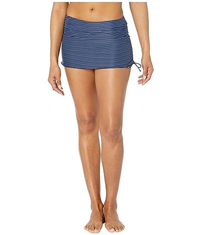 Carve Designs Hoku Swim Skirt (Navy Bayside) Women