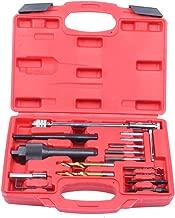 Qbace 16pcs Glow Plug Removal Remover Tool Set Kit Damaged 8mm 10mm Plastic Case