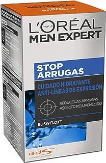 LOreal Paris Men Expert - Cuidado hidratante anti-arrugas de expresión Stop Arrugas 50 ml