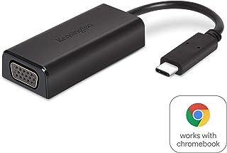 Kensington CV2000V USB-C FULL HD VGA Adapter- Certified to Work with Chromebook (K38676WW)