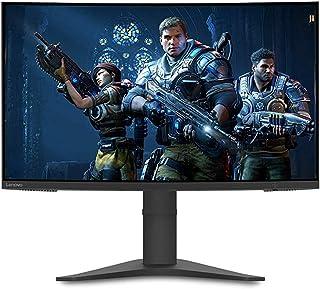 "Lenovo G27c-10 Curved Gaming Monitor, 27"" FHD, LED Backlit LCD Freesync, 16:9, Black, 66A3GACBAU"