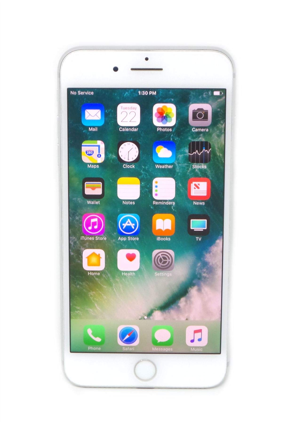 Apple iPhone 7 Plus, 128GB, Silver - For T-Mobile (Renewed)