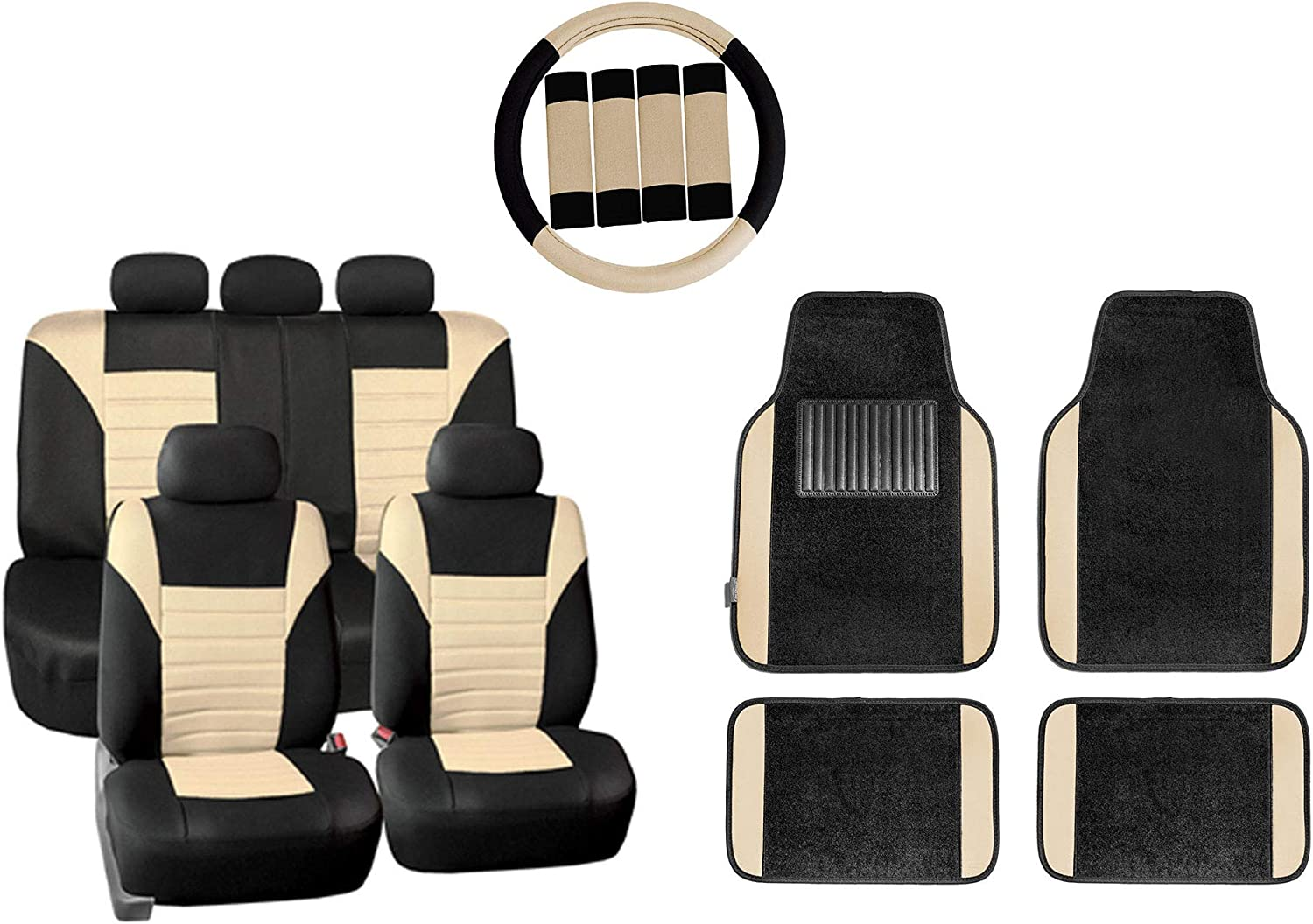 TLH Premium Tucson Mall 3D Air Mesh Seat Full Covers Compatible Airbag Set outlet