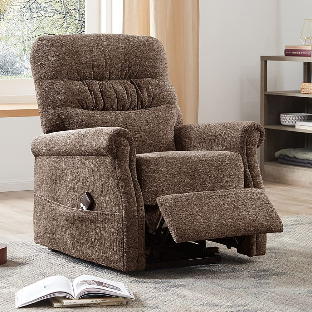 Oris Fur. Electric Lift Chair Max 83% OFF L Soft Upholstery Reclining Recommendation Fabric