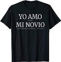 Playera Yo Amo cuando mi Novio... Camiseta San Valentin