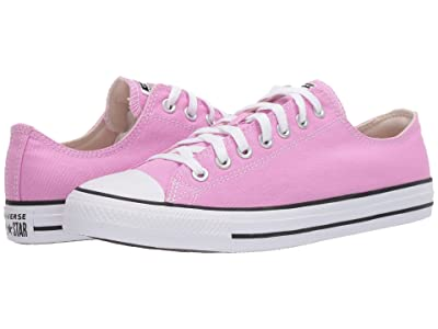 Converse Chuck Taylor All Star Seasonal Ox (Peony Pink) Athletic Shoes