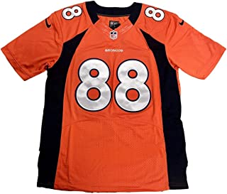 Demaryius Thomas Autographed Jersey - Home Orange - JSA Certified - Autographed NFL Jerseys