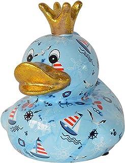 Pomme Pidou skarbonka kaczka morska 20 x 17 cm skarbonka prezent pieniężny prezent figurka dekoracyjna