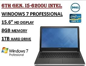 Dell Inspiron 15 i5559-4813SLV Laptop - i5-6200U /8GB Ram /1TB HDD /Win 7