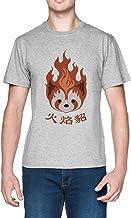 Leyenda de Korra Fuego Los Hurones Pro flexión Emblema Gris Mujer Camiseta Grey Women's tee