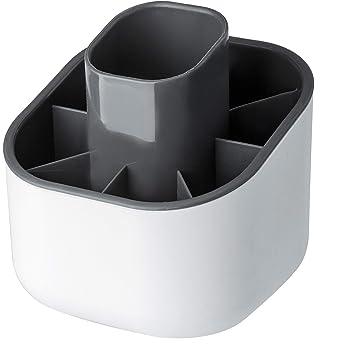 TOPBATHY Porta Posate Scolaposate in Legno bamb/ù per forchette cucchiai coltelli Portautensili da Cucina