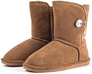 Women's Leather Snow Boots