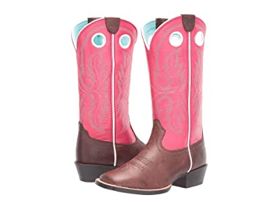 Ariat Kids Whippersnapper (Toddler/Little Kid/Big Kid) (Brownie Batter/Carousel Pink) Girl