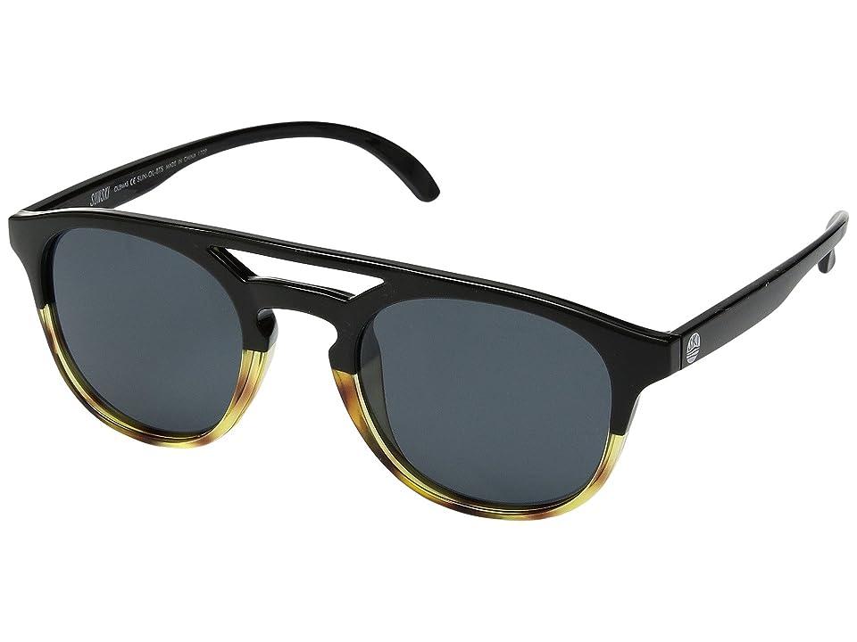 Sunski Olema (Black/Tortoise/Slate) Sport Sunglasses
