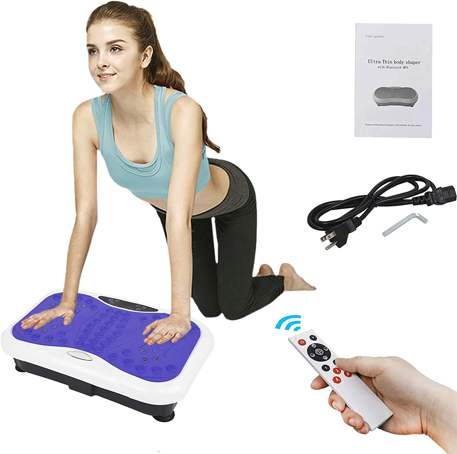 Tulsa Mall It is very popular Vibration Plate Exercise Machine Body Workout Whole -