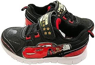 Disney Cars Lightning McQueen Light-up Shoes Black/red/White 6
