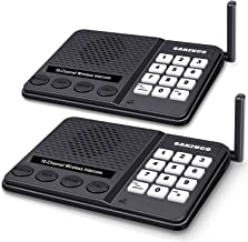 [New Version] Wireless Intercom System for Home – Long Range 1 Mile Home Intercom..
