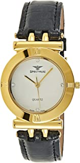 Spectrum Women' s Leather Band Watch - 93424LL-4