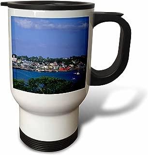 3dRose tm_72062_1 Harbor, Fishing Village, Lunenburg Nova Scotia Canada CN07 BBA0016 Bill Bachmann Travel Mug, 14-Ounce, Stainless Steel