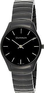 Calvin Klein Unisex-Adult Quartz Watch, Analog Display and Stainless Steel Strap K4D22441