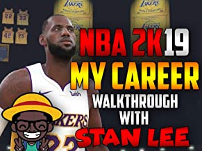 NBA 2K19 My Career Walkthrough With Stan Lee