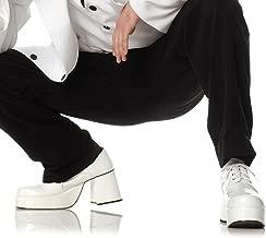 Adult White Platform Shoes