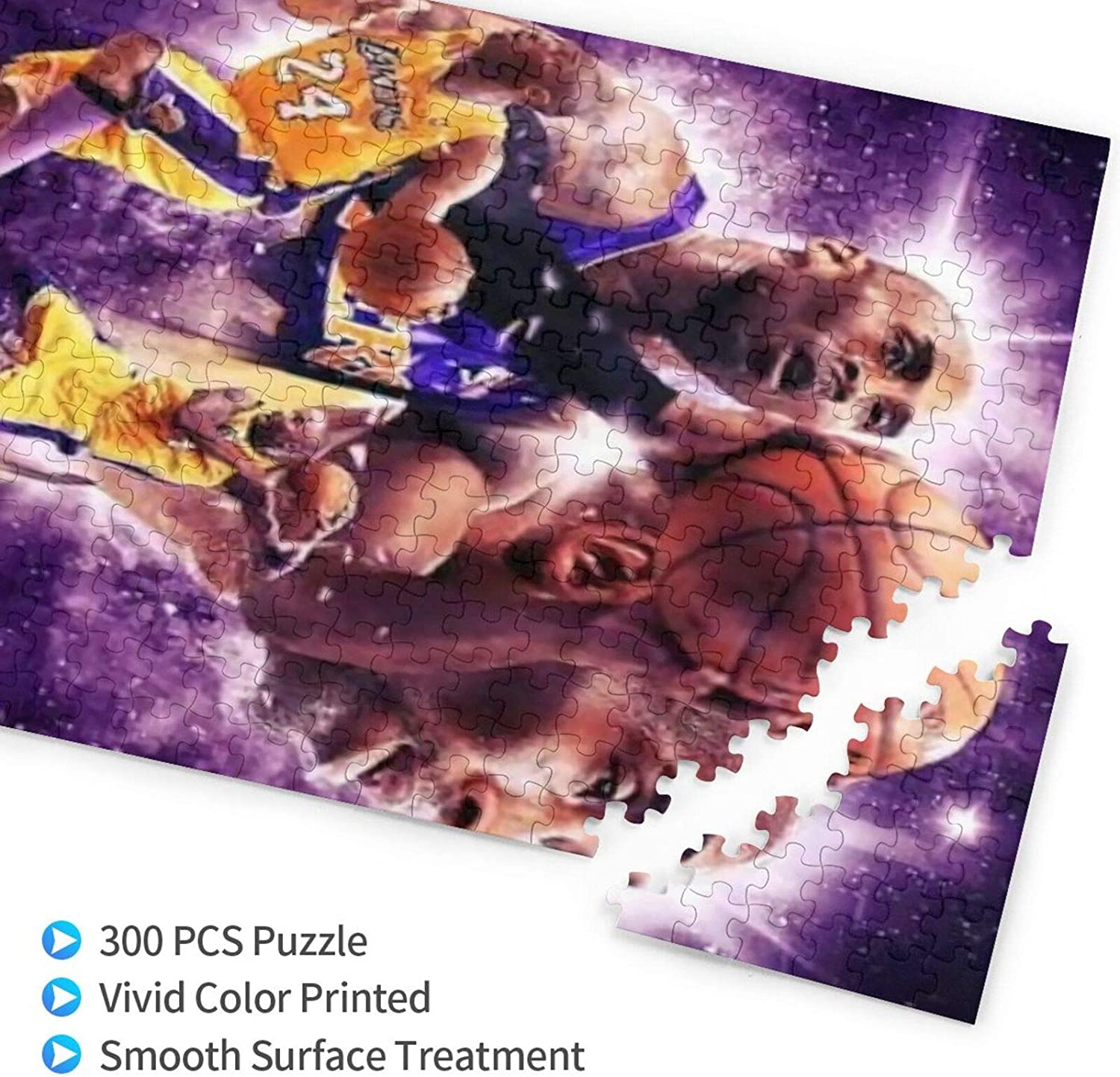 CAPTIVATE HEART ko-be Bryant Jigsaw Puzzle Wooden Puzzle 500 Pieces Jigsaw Intellectual Toys Funny Picture//Basketball.
