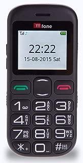 TTfone Jupiter 2 TT850 Big Button Easy Senior Mobile Phone with Dock Charger
